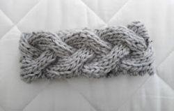 #BraidedKnit #Headband #FreePattern I am making this today :)