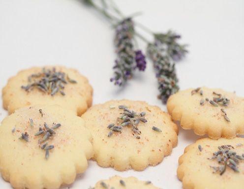 Lavendel Kekse Rezept