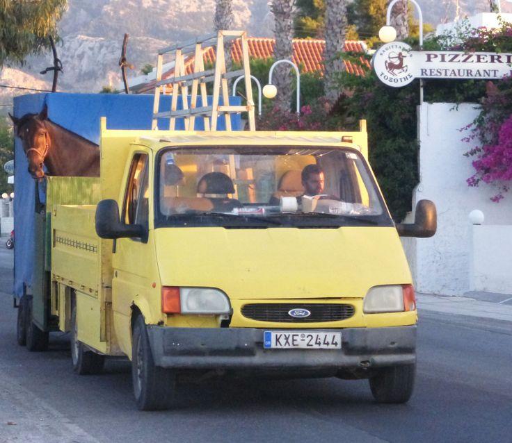 Horse Truck, Tingaki, Kos