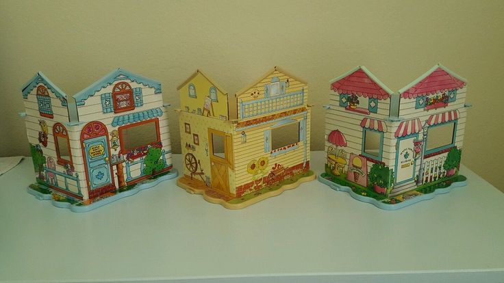 Lot of 3 Maple Town Play Rooms Hospital Bedroom Ice Cream Shop Bakery Truck Cat   eBay
