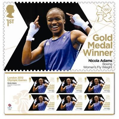 Large image of the Team GB Gold Medal Winner Miniature Sheet - Nicola Adams