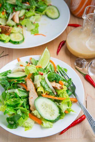 Banh Mi Chicken Salad | Recipe | Chicken salads, Salads and Cooking