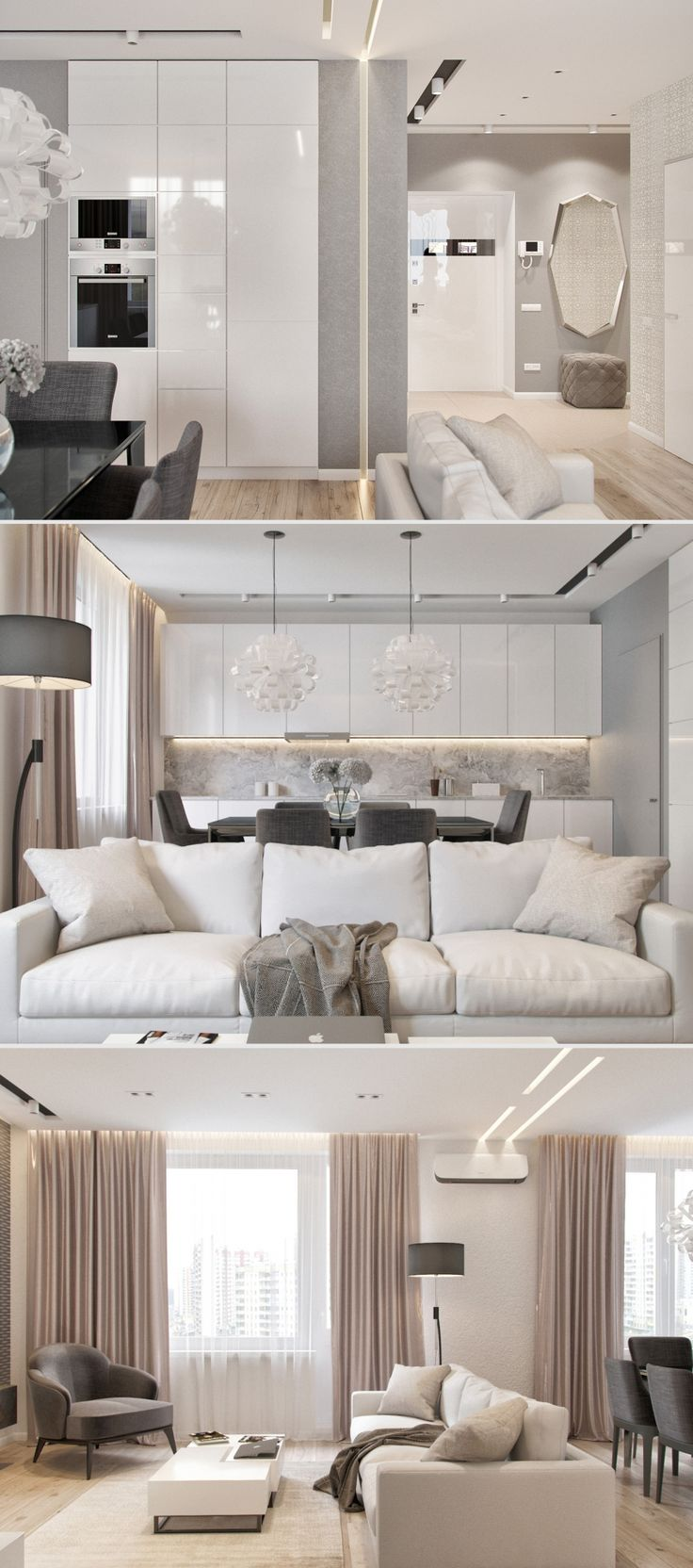 Квартира 105 кв.м - Галерея 3ddd.ru