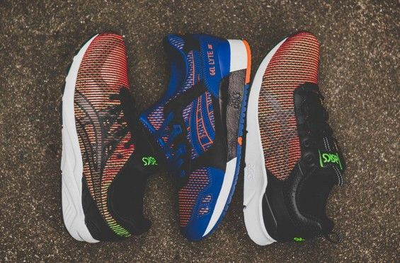 Asics is getting colorful on us this Fall with their new Chameleoid Pack. Featuring three different silhouettes, each shoe from this collection comes equipped with unique color-shifting mesh uppers fo
