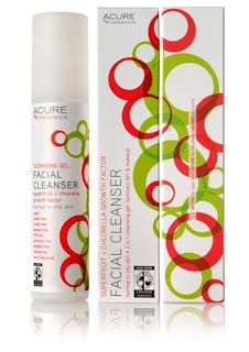 REVIEW | Acure Organics Facial Cleansing Gel Superfruit + Chlorella Growth Factor - The Glamorganic Goddess