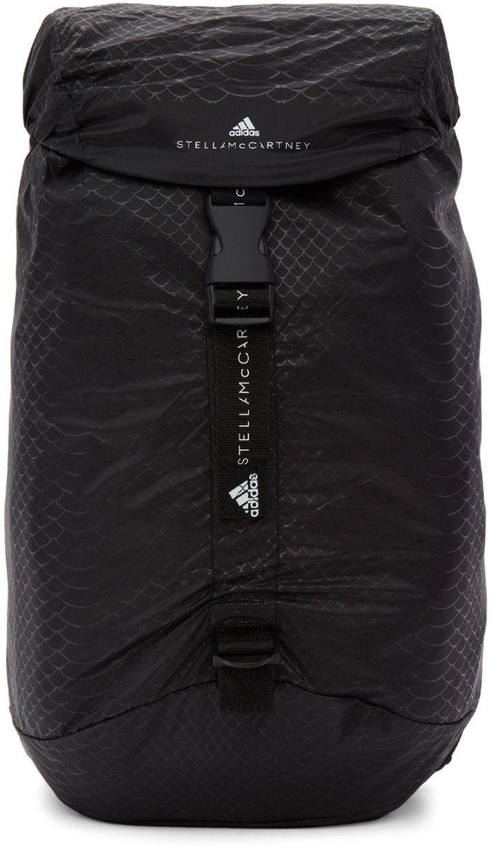 6dbe3b08c9 adidas by Stella McCartney - Black Small Adizero Backpack