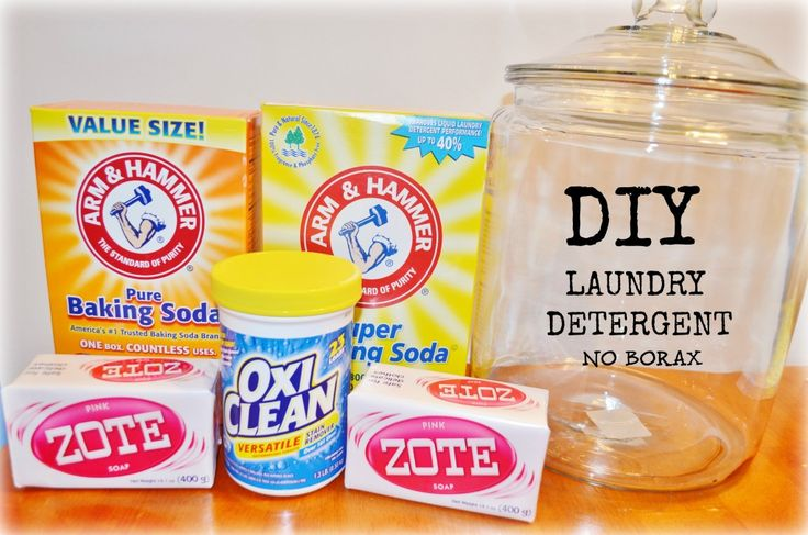 Diy Homemade Laundry Detergent Recipe No Borax
