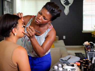Marie Jilson Makeup Artistry tutorial, for those of you that live in the Rockville, Maryland area.