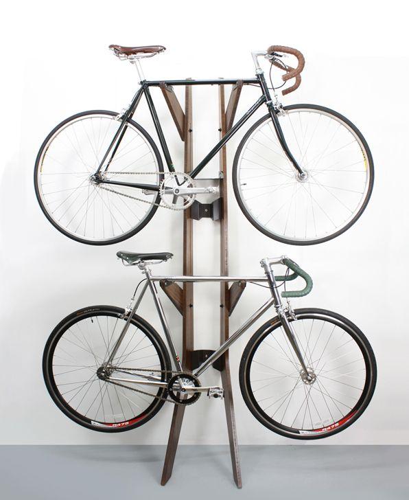 Quarterre's Branchline bike stand/ Cooper Bikes