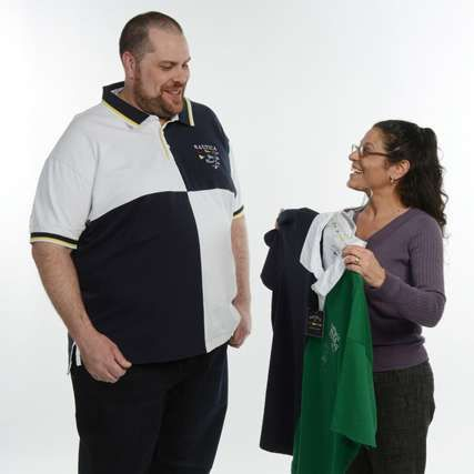 Big and tall men clothing store
