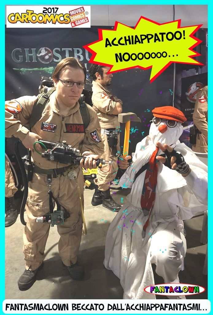 FantasmaClown Beccato !