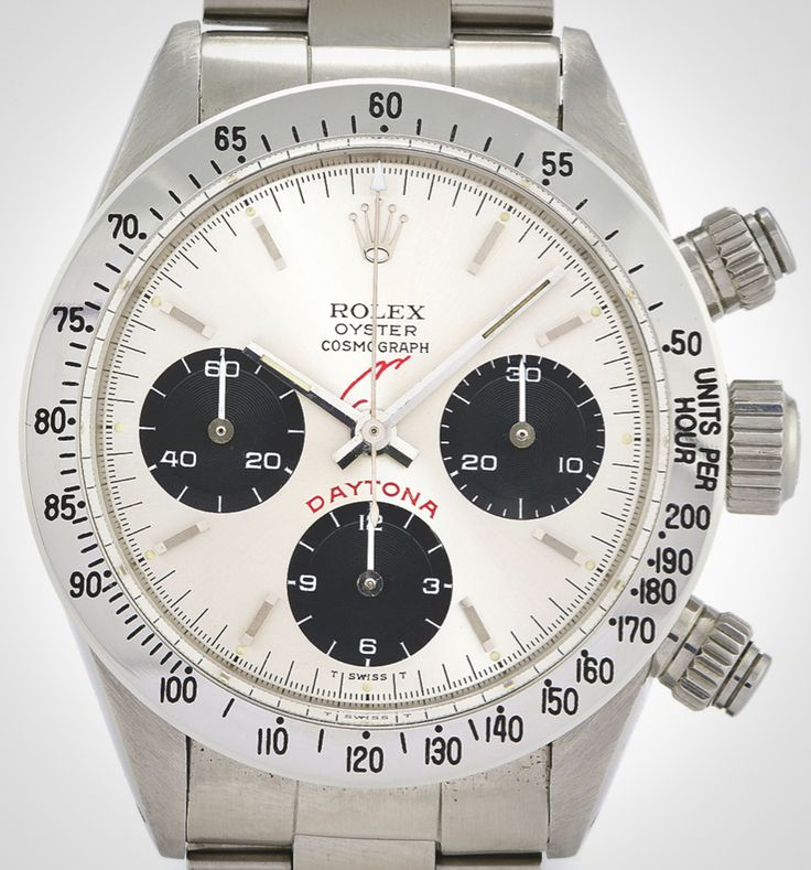 A Vintage Rolex Daytona With Gaddafi's Signature On The Dial