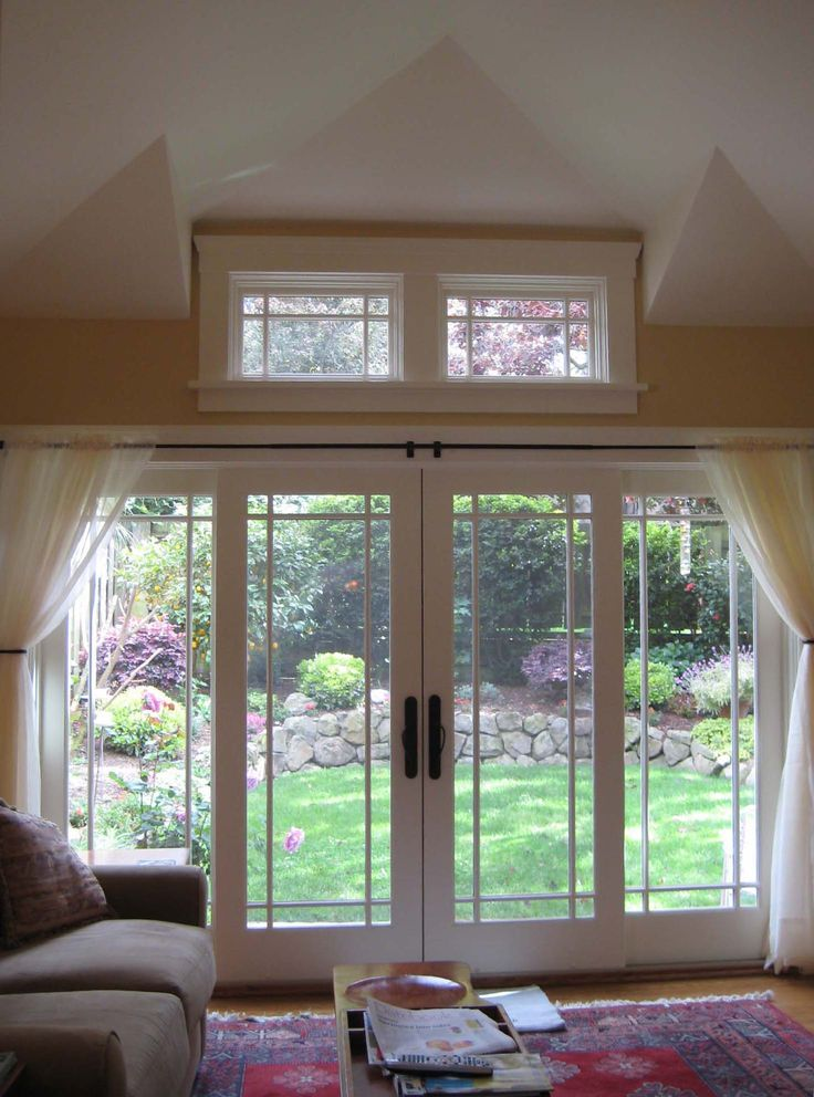 Cool White Two Panel Transom Windows With Simplistic