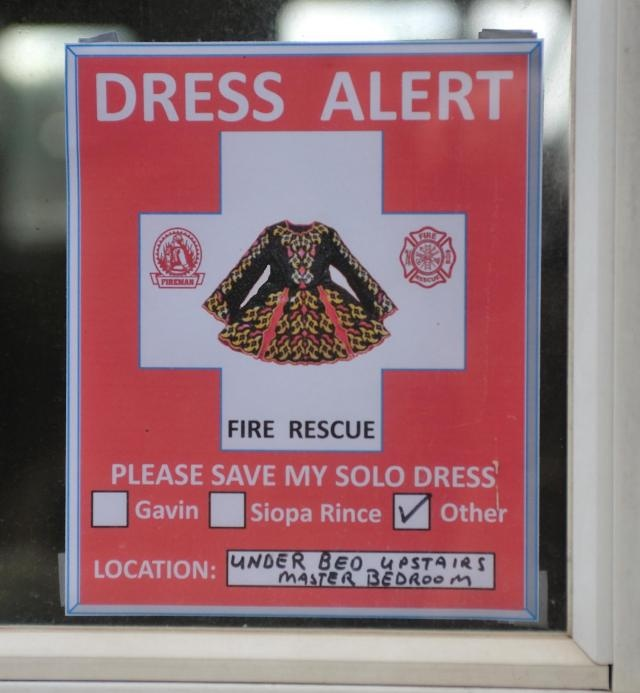 Oh my!  So funny, given the cost of some of the dresses I think this might not be a bad idea lol!!!