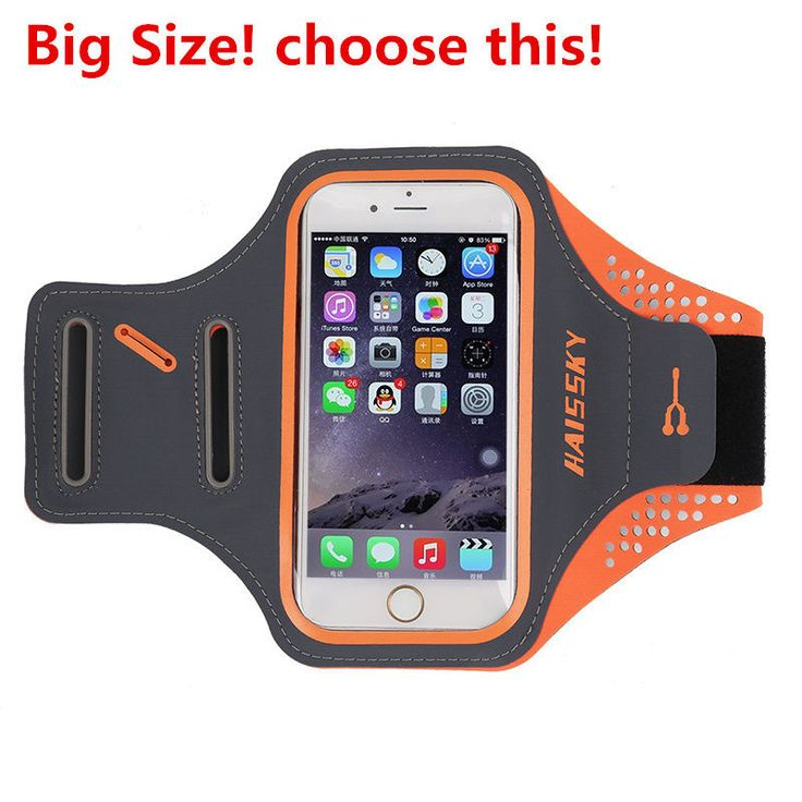 HOTR Gym Sports Armband Arm Band Cover Waterproof Case For Iphone 6 7 7 plus Running Bag With Card Key Holder For Samsung Huawei