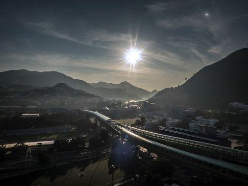 Hong Kong Southside, early morning.