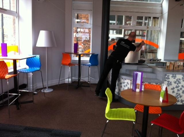 Colorful Furniture For Restaurant Design