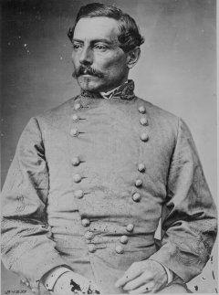 Pierre Gustave Toutant-Beauregard était un créole général américain qui a servi avec distinction dans la guerre du Mexique et le guerre de Sécession.