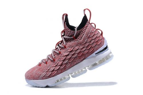 abb543b6364829 Purchase Nike LeBron 15 Wine Red Flyknit Basketball Shoes 897649-201 For  Sale - ishoesdesign