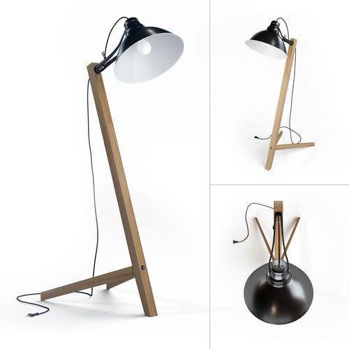 Scandinavian Floor Lamp: scandinavian floor lamp 3d model max obj fbx 1,Lighting