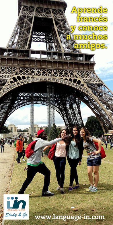 Viaja a Paris y aprende francés.