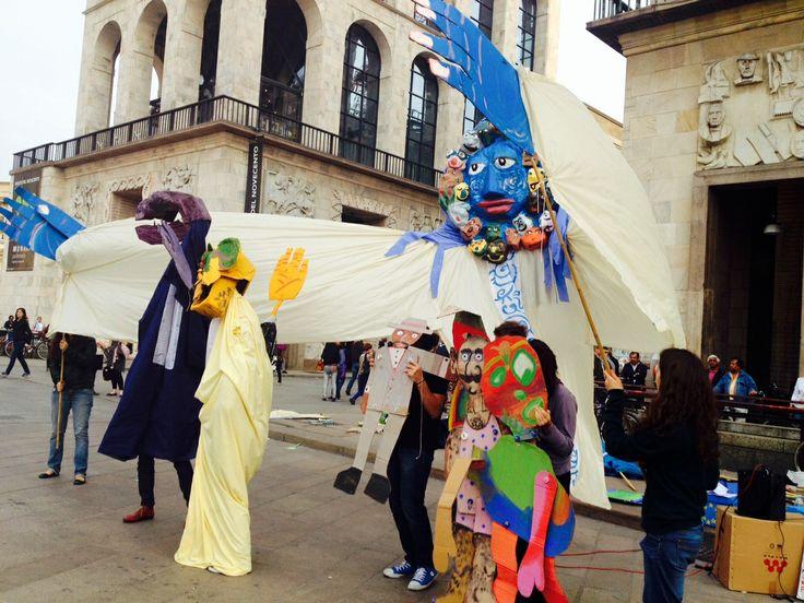 Performance n. 1 Piazza Duomo Milano