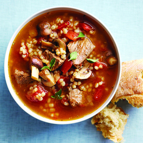 Try this homemade Beefy barley soup for dinner tonight