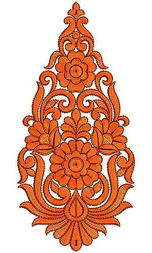 Fashion Dress Embroidery Design