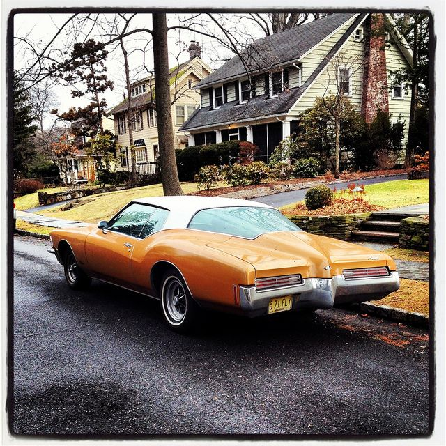 Dallas Buick: Sweet 70's Buick Riviera Spotted In Montclair, NJ