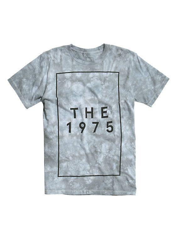 The 1975 Logo Tie Dye T-Shirt, TIE DYE