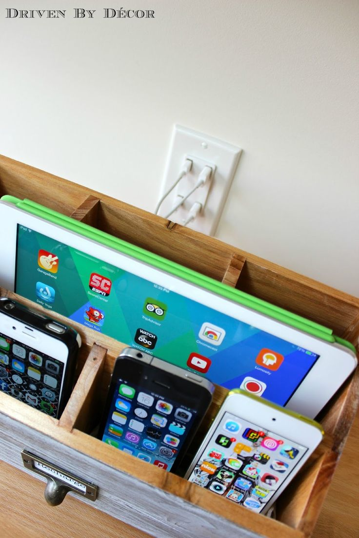 Driven By Décor: Family Charging Station