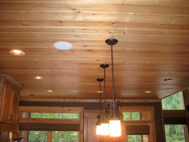 16 best wood ceiling images on pinterest wood ceilings for Wood paneling for kitchen walls
