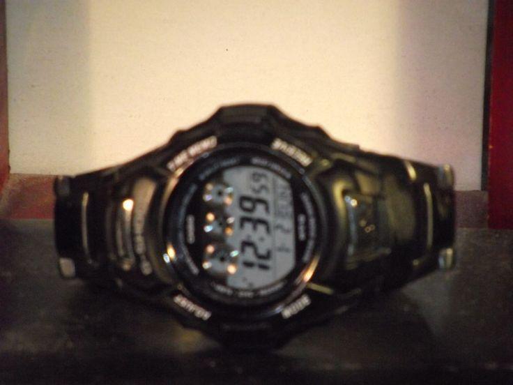 Pre-Owned Men's Casio MTG-920DA Atomic Tough Solar Digital Watch #Casio #Sport