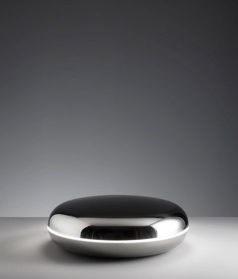 Table lamps in stainless steel | Table lights | Loop. Check it out on Architonic