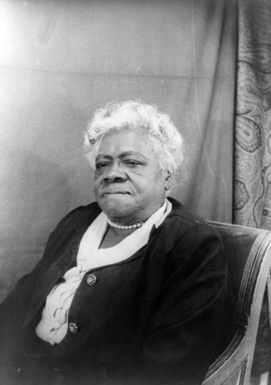 "Mary McLeod Bethune (1875-1955) As Director of Negro Affairs of the National Youth Administration from 1936-1944, she also advised President Franklin Delano Roosevelt on minority affairs and interracial relations, advocating for blacks to be served by New Deal policies, and was the head of FDR's ""Black Cabinet""—an unofficial but important role. The Women's Army Corps was integrated because of her work as a member of the advisory board. The daughter of former slaves, Bethune thought education"