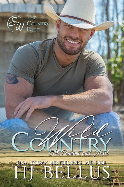 Wild Country by HJ Bellus COVER REVEAL   WILD COUNTRY by HJ Bellus  The Country Duet #1  New Adult Contemporary Romance   BASED ON A TRUE STORY.  Some have it all.  Hunter Yates truly does.  Hes humble and kind even though he has it all. Its his small town roots that keep him grounded. Hes a simple man from a small town with a heart of gold. Perfection carved from beauty.  As he sets off in the world its his humble beginnings that keep his boots planted on the ground. Hunter finds himself…