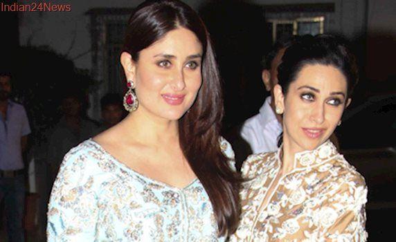 Kareena and Karisma, the Kapoor sisters stun in Manish Malhotra at Randhir Kapoor's 70th birthday bash