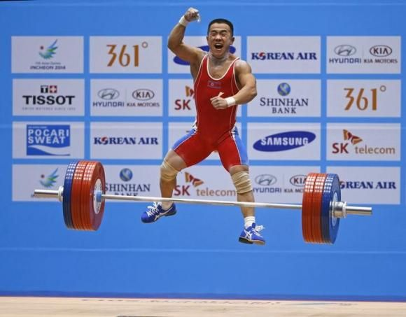 Asian Games 2014: North Koreas Om Yun Chol sets weightlifting world record