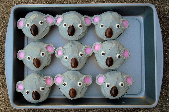 koala cupcakes - just a thought!