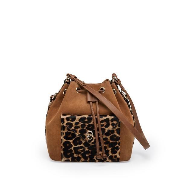 LEONARDO LEOPARD BUCKET BAG 🐯 grrrr...  #leowulff #leopard #bucket #bag