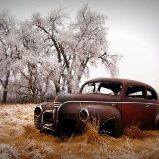 Amazing Rusty Finds - #searchlocated - Car