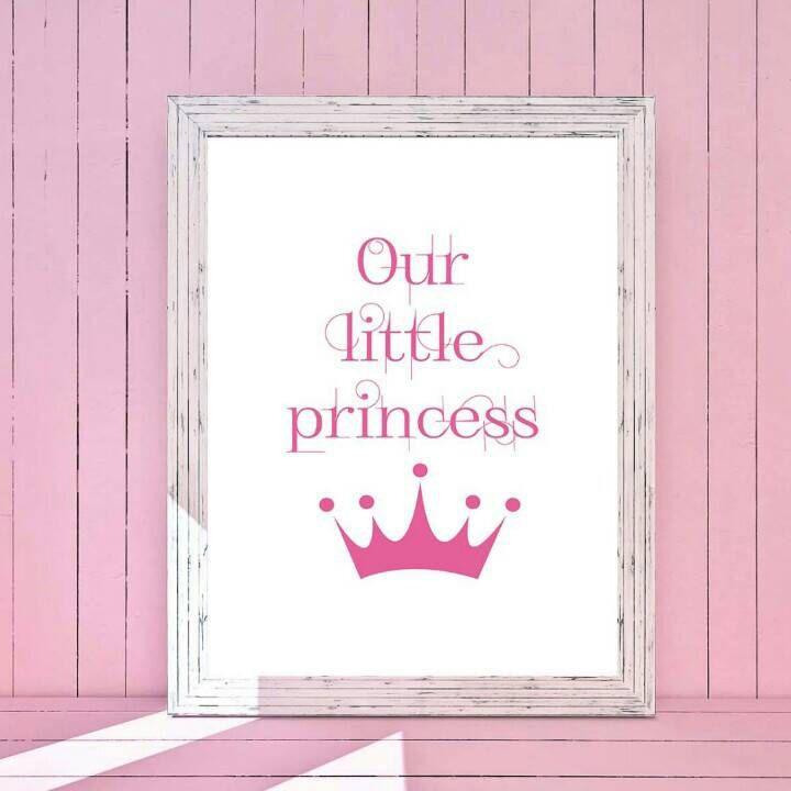 Our little princess - Nursery decor