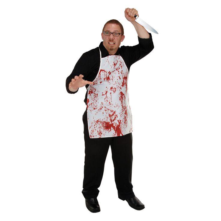 Halloween Horror Fabric Novelty Apron (6ct)