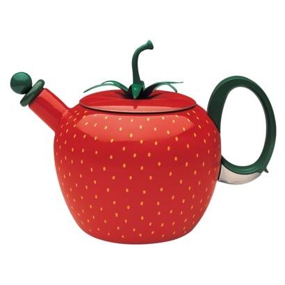 Strawberry Teakettle. SUPER cute!