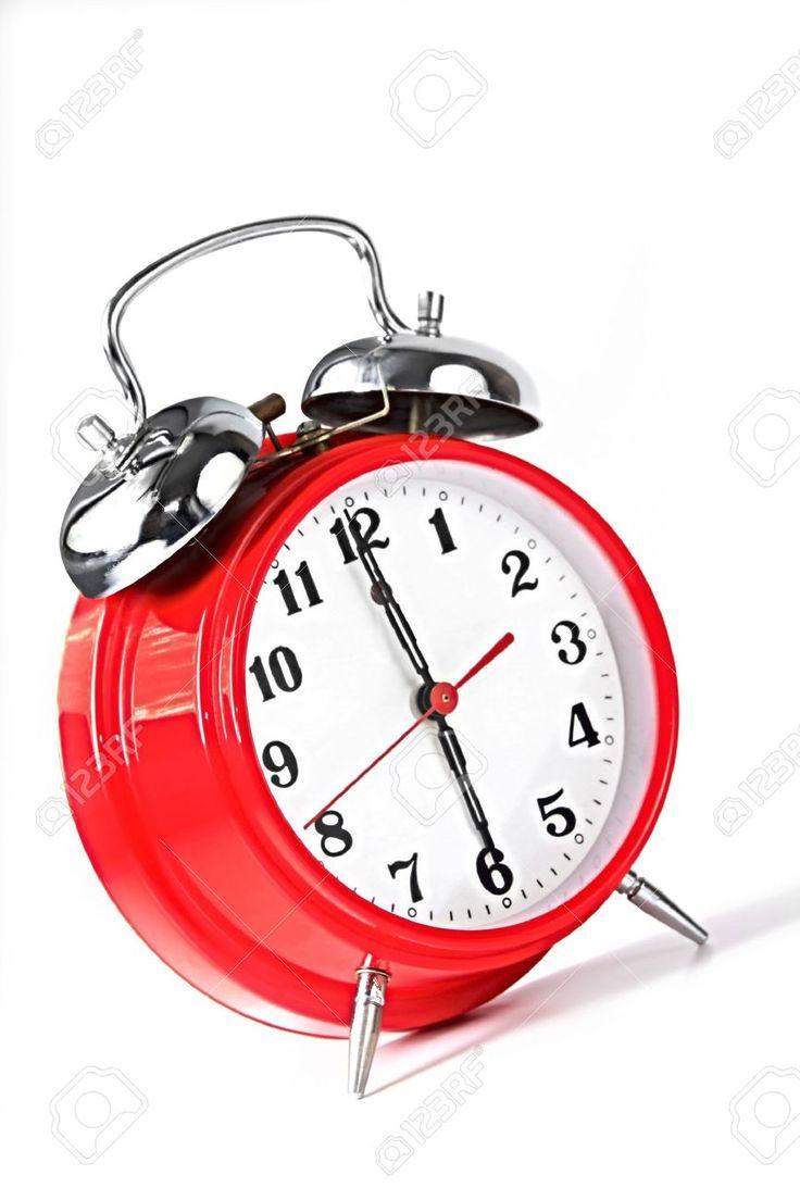 Image result for alarm clock set a 6pm
