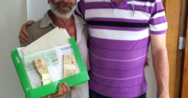 Trabalhador rural encontra R$ 134 mil em pasta e devolve para dono no PR