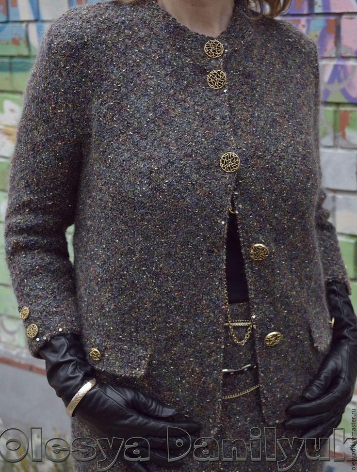 """Купить костюм """"Ольга"""" - костюм в стиле шанель, женский костюм, деловой стиль, офисный костюм"""
