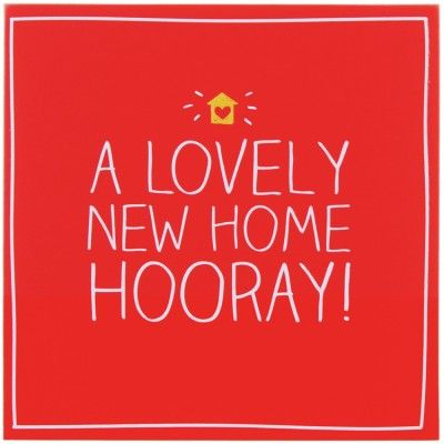 A Lovely New Home Hooray! Card                                                                                                                                                                                 More