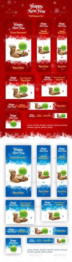 Holiday Web Banner Set Template PSD | Buy and Download: http://graphicriver.net/item/holiday-banner-set/6217532?WT.ac=category_thumb&WT.z_author=themefire&ref=ksioks