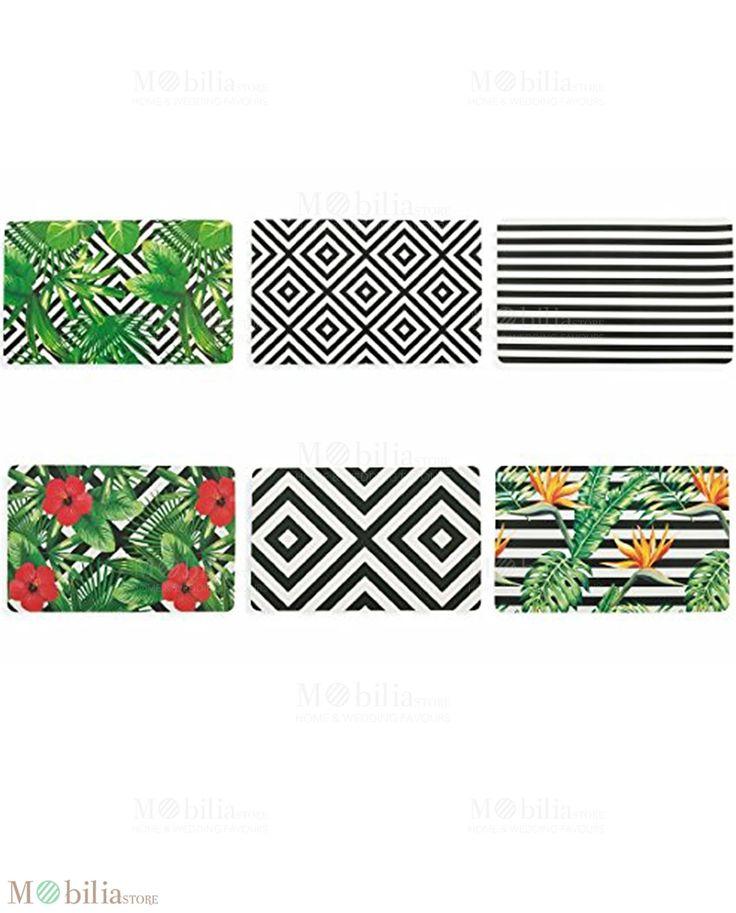 Tovagliette Tropicali, colorano e decorano la tua tavola, scoprile su Mobilia Store.